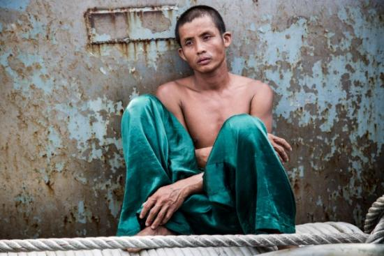 Worker in the Thai fishing industry