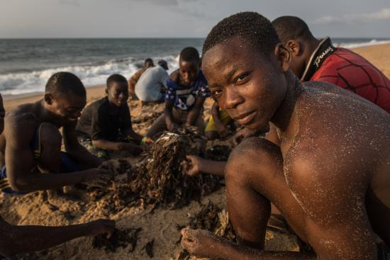 A healthy environment is essential for Ghana's fishing communities