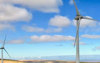 EJF has invested in wind turbines as part of their commitment to sustainable energy